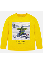 Mayoral Better On Snow Long Sleeve Shirt - Product Mini Image