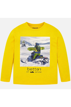 Shoptiques Product: Better On Snow Long Sleeve Shirt