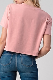 Better Be Boxy Crop Blush - Side cropped