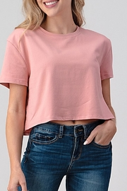 Better Be Boxy Crop Blush - Front cropped