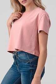 Better Be Boxy Crop Blush - Front full body