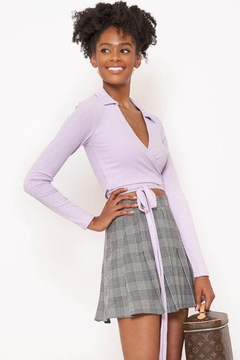 Better Be Collar Wrap Top - Product List Image