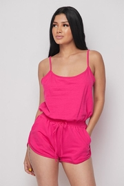 Better Be French Terry Romper - Product Mini Image
