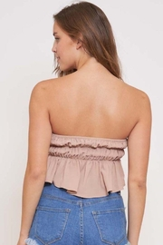 Better Be In The Groove Bubble Tube Top - Back cropped