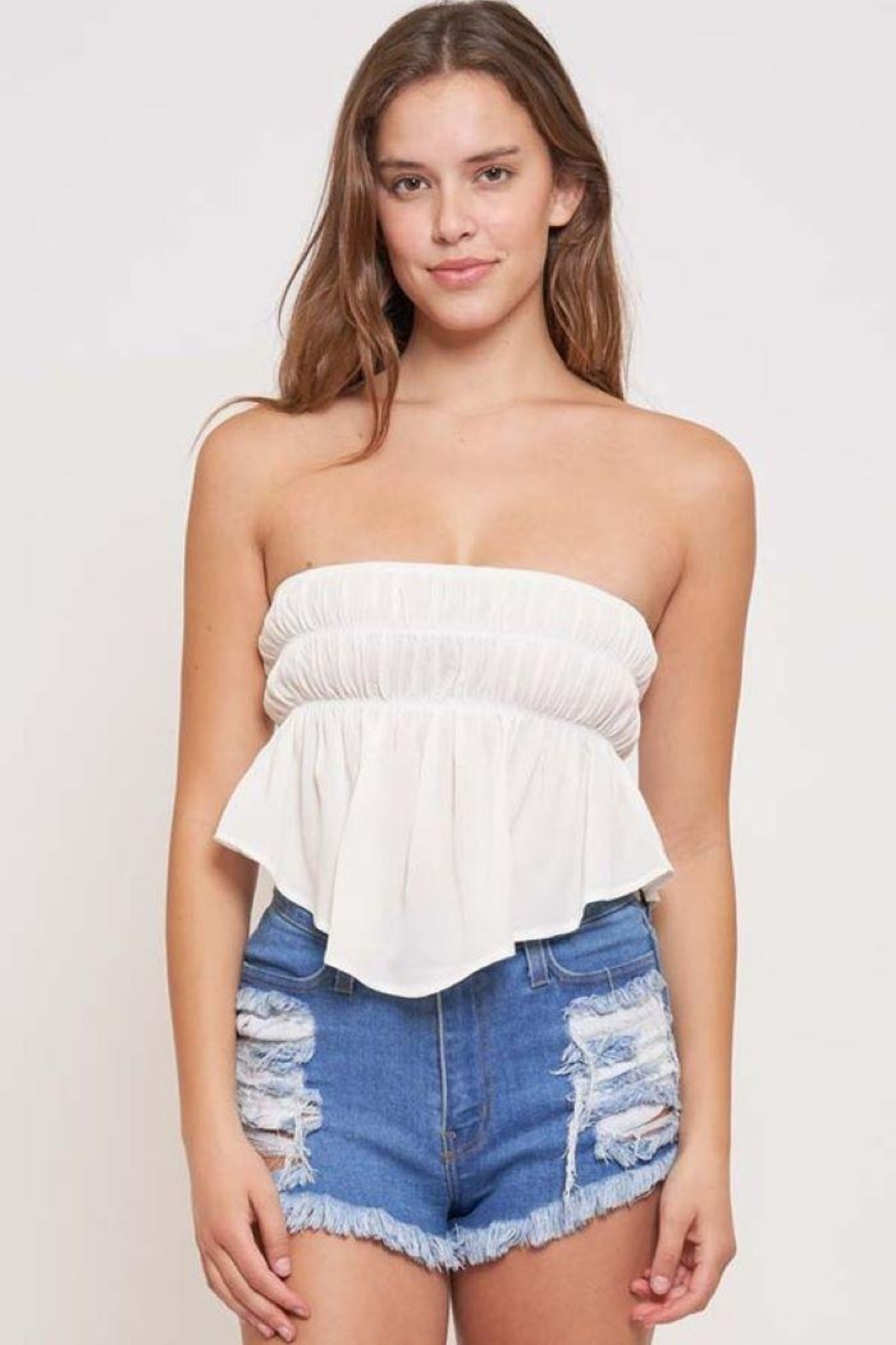 Better Be In The Groove Bubble Tube Top - Side Cropped Image
