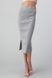Better Be Long Knit Skirt - Product Mini Image
