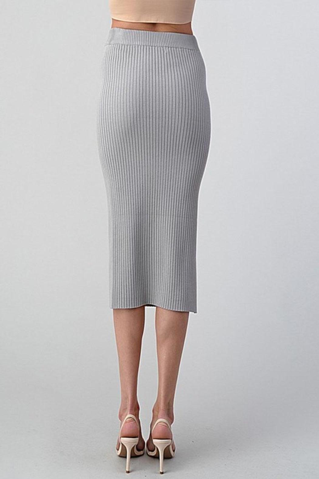 Better Be Long Knit Skirt - Side Cropped Image