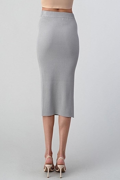 Better Be Long Knit Skirt - Alternate List Image