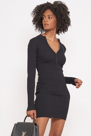 Better Be Long-Sleeve Ribbed Dress - Product Mini Image