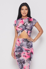 Better Be Mesh Floral Top - Product Mini Image