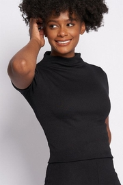 Better Be Mock-Neck Knit Top - Front cropped