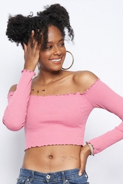 Better Be Off Shoulder Crop-Top - Product Mini Image