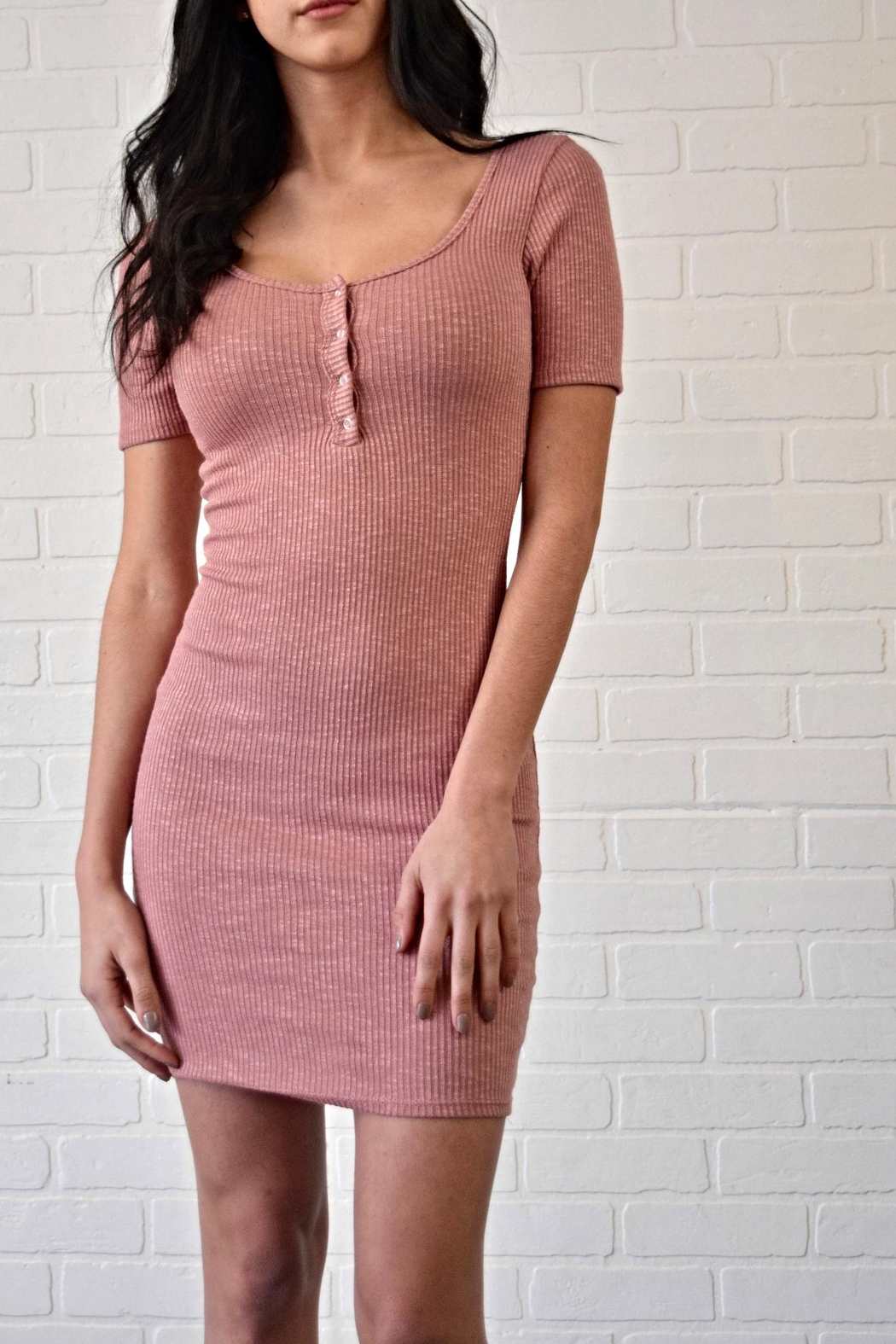2684ac4637c2 Better Be Ribbed Dress from New York by Dor L Dor — Shoptiques