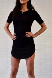 Better Be Ribbed Mini Dress - Front cropped