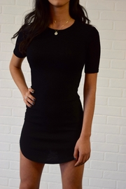 Better Be Ribbed Mini Dress - Side cropped
