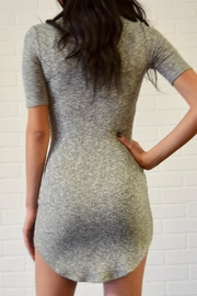 Better Be Ribbed Mini Dress - Back cropped