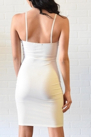 Better Be Ribbed Spaghetti Dress - Side cropped