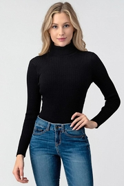 Better Be Ribbed Turtleneck Bodysuit - Product Mini Image