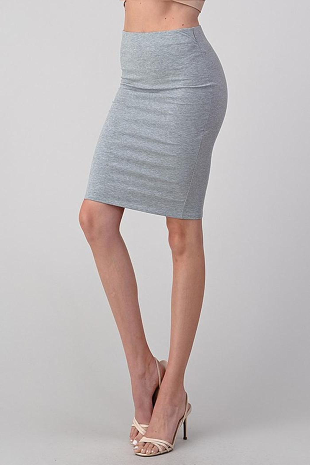 Better Be Stretch Midi Skirt - Side Cropped Image