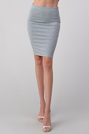 Better Be Stretch Midi Skirt - Front cropped