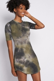 Better Be Tie-Dye Jersey Dress - Front cropped