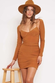 Better Be Triangle Dress With Bolero Set - Front cropped