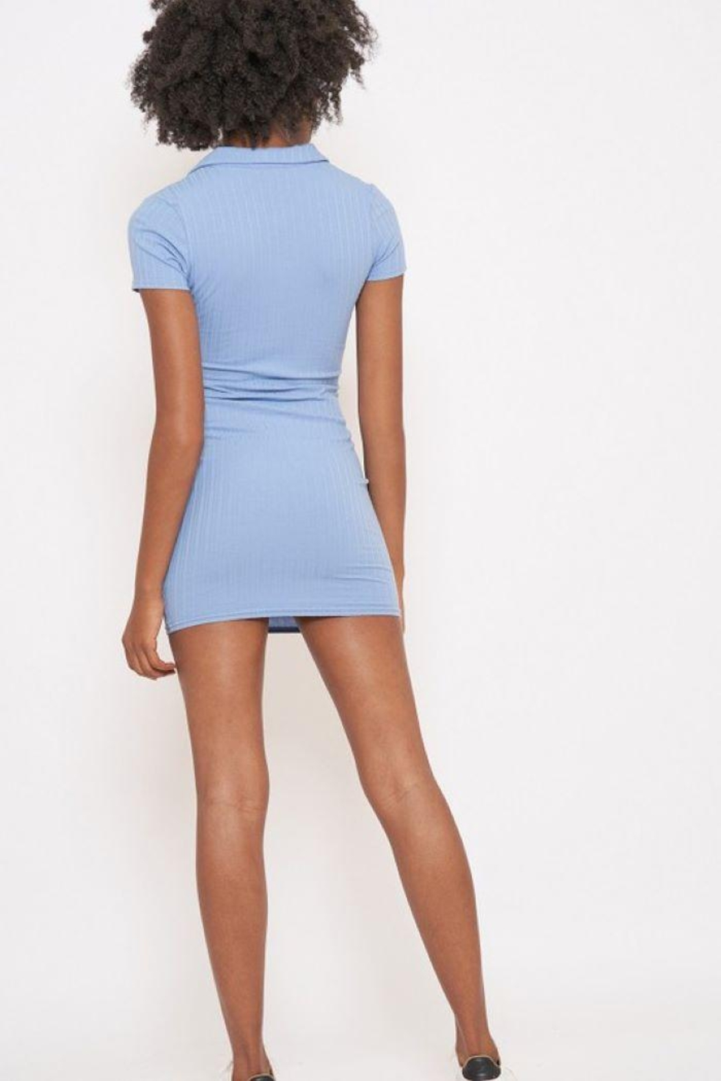 Better Be Veriegated Dress With Ring Zip - Side Cropped Image
