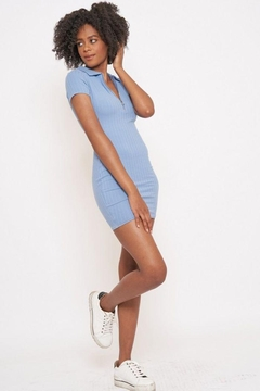 Better Be Veriegated Dress With Ring Zip - Product List Image