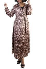 Bettie Page Leopard Print Robe - Product Mini Image