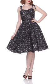 Bettie Page Clothing Flamingo Swing Dress - Front cropped