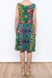 Betty Jeffries Multicolor Knit Dress - Back cropped