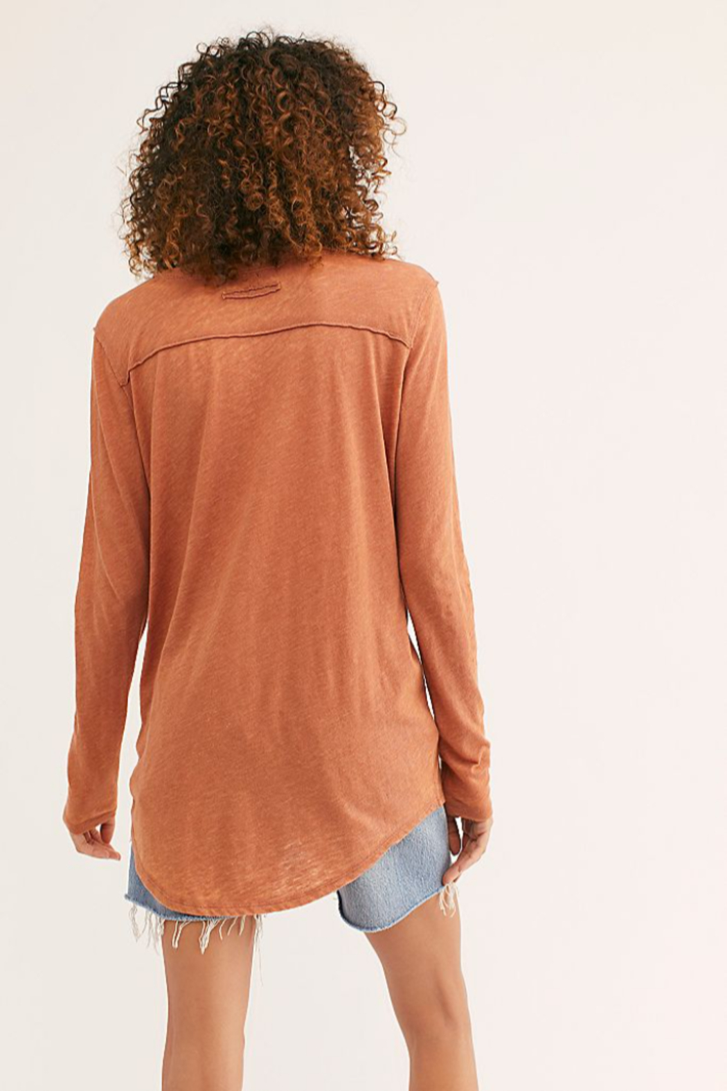 Free People Betty Long Sleeve - Front Full Image