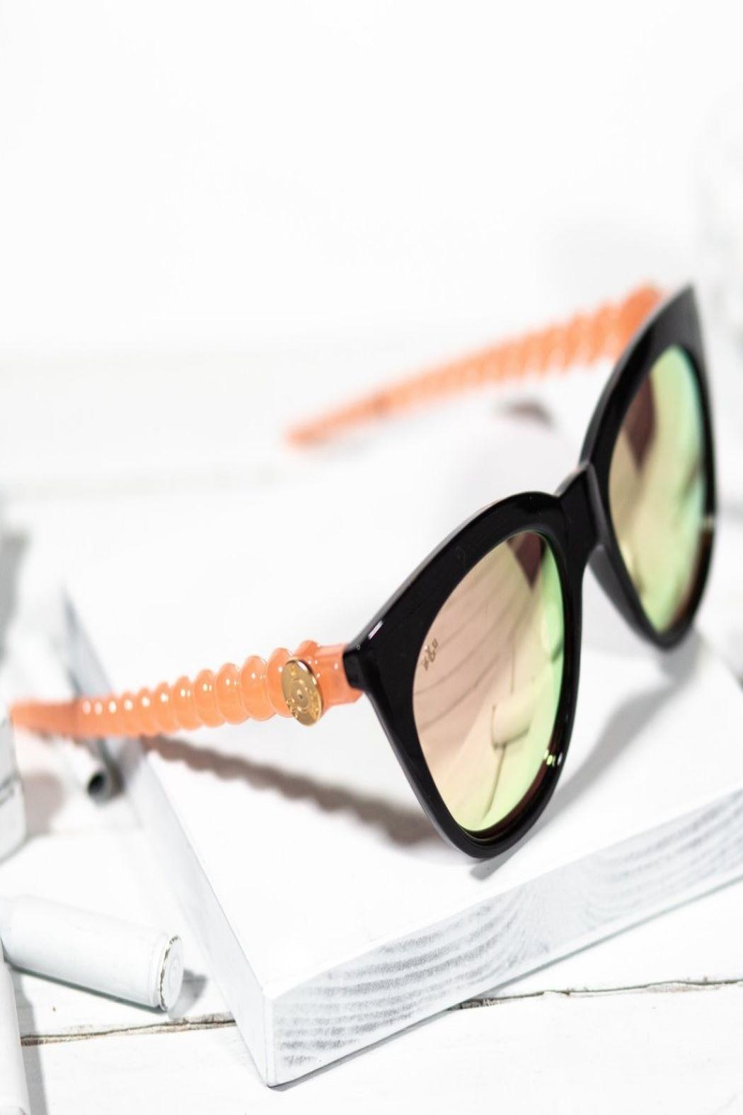 Brass & Unity Betty Sunglasses - Front Cropped Image
