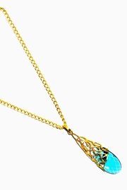 Betty Carre Blue Crystal Necklace - Product Mini Image
