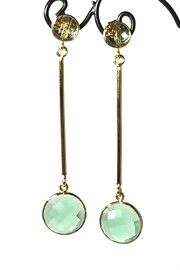 Betty Carre Crystal Drop Earrings - Product Mini Image