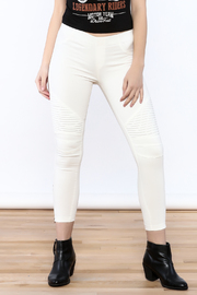 beulah White Ankle Legging - Product Mini Image