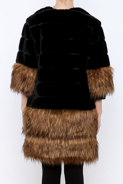 beulah Faux Fur Overcoat - Alternate List Image