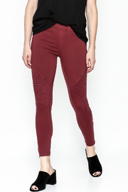 beulah Moto Pants - Front cropped
