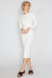 beulah Ribbed Midi Dress - Front cropped
