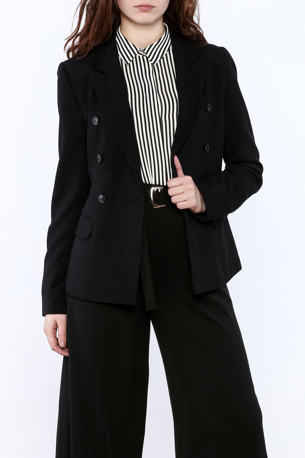 BEULAH STYLE Double Breasted Blazer - Main Image