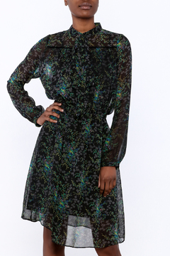 Shoptiques Product: Sheer Floral Dress