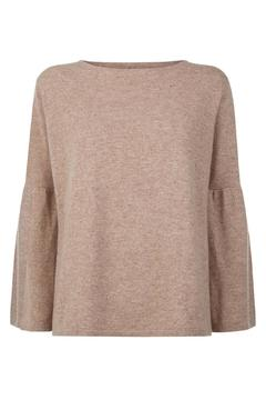 Shoptiques Product: Bell Sleeved Cashmere Jumper