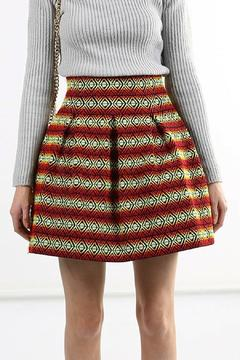 Shoptiques Product: Bandage A-Line Skirt