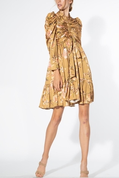 BEULAH STYLE Beige Floral Dress - Product List Image
