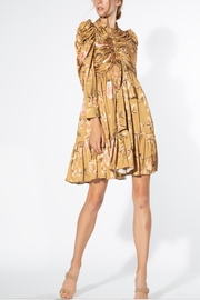 BEULAH STYLE Beige Floral Dress - Product Mini Image