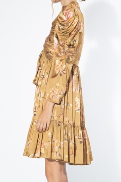 BEULAH STYLE Beige Floral Dress - Alternate List Image