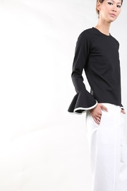 BEULAH STYLE Bell Sleeve Blouse - Product Mini Image