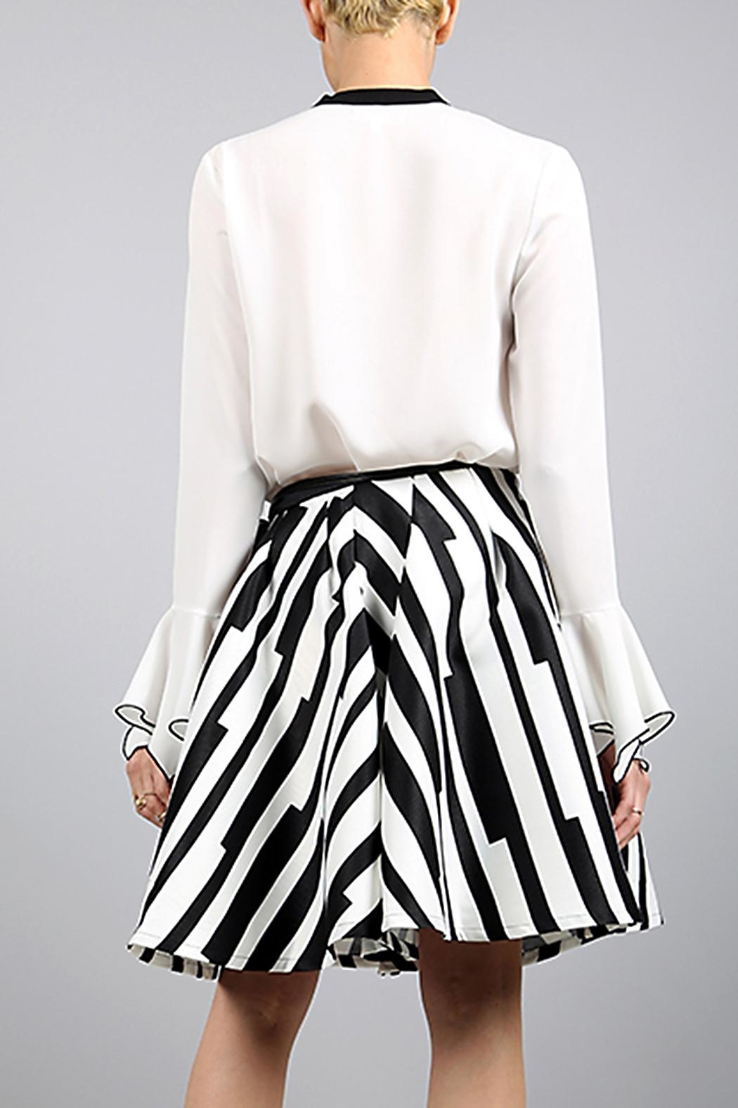 BEULAH STYLE Beulah A-Line Skirt - Side Cropped Image