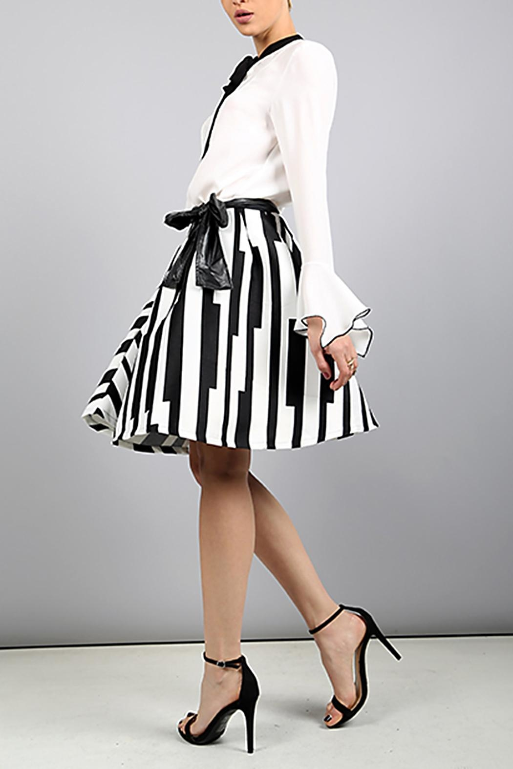 BEULAH STYLE Beulah A-Line Skirt - Front Full Image