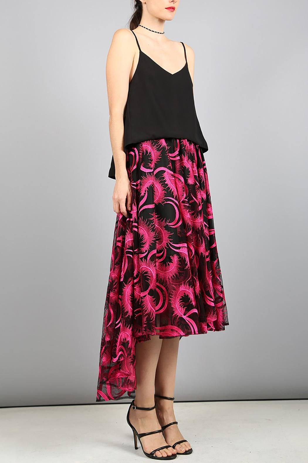 BEULAH STYLE Beulah Embroidery Skirt - Front Full Image